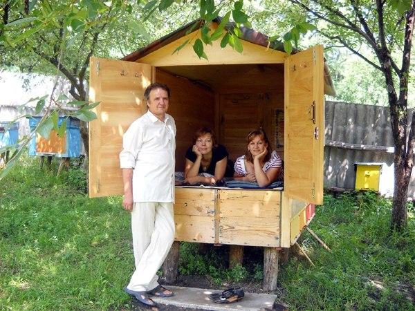 Домик для лечения пчелами своими руками 818